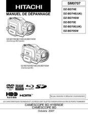 Buy Hitachi DZBD70A Service Manual by download Mauritron #289929