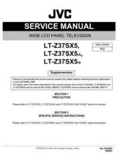 Buy JVC LT-Z37SX5S Service Manual by download Mauritron #282763