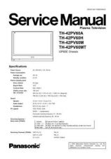 Buy Sharp TH-42PV60H Manual by download Mauritron #298605