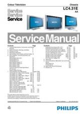 Buy Philips LC4.31E AA Chassis Service Manual by download Mauritron #306180