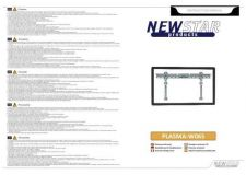 Buy Newstar PLASMA W065 Audio Visual Instructions by download #333606