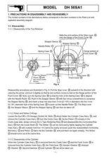 Buy Hitachi DH50SA1 Tool Service Manual by download Mauritron #319847