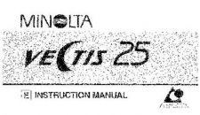 Buy Konica Vectis 25 e Camera Operating Guide by download Mauritron #320792