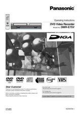 Buy Panasonic DMR-E65[[[[[[]]]]]]]]] Manual by download Mauritron #298947