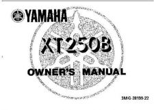 Buy Yamaha 3MG-28199-22 Motorcycle Manual by download #334152