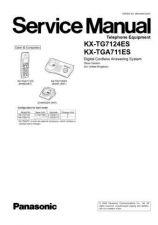 Buy Panasonic TG7124E_FINAL_71 Manual by download Mauritron #302300