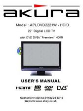 Buy Akura APLDVD2221W HDID I Book Service Manual by download Mauritron #330295