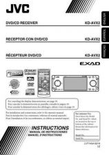 Buy JVC KD-AVX2-3 Service Manual by download Mauritron #281786