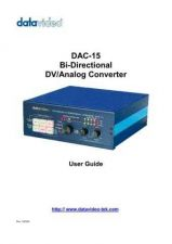 Buy Datavideo DAC-100 Service Manual by download Mauritron #324907