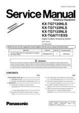 Buy Panasonic KX-TGA110FXS============= Manual by download Mauritron #300582