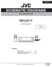 Buy JVC KD-LX111 Service Manual by download Mauritron #282080