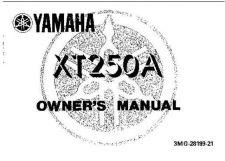 Buy Yamaha 3MG-28199-21 Motorcycle Manual by download #334151
