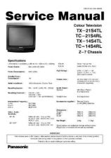 Buy Panasonic TX-21S1T-[2] Manual by download Mauritron #302481