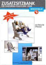 Buy Volkswagen T4 1990CaliforniaAdditionalSeatSalesBrochureGermanWM by download #333790
