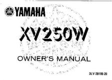Buy Yamaha 3LV-28199-20 Motorcycle Manual by download #334140