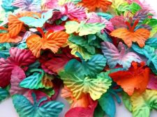 Buy 50 Mulberry Paper Butterfly Artificial Wedding Embellishment Scrapbook 5.5 cm.