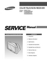 Buy Samsung CW29A8HDE Service Manual by download Mauritron #332798
