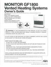Buy Honeywell Monitor Gf1800manual by download Mauritron #317887