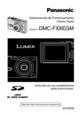 Buy Panasonic DMC-FX8EB Manual by download Mauritron #298752