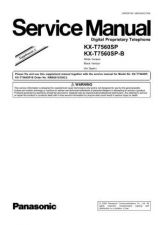 Buy Panasonic T7560SP_SUP3 Manual by download Mauritron #301778