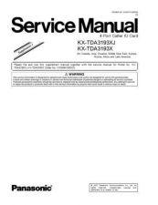 Buy Panasonic KX-TDA0174XJ Manual by download Mauritron #300313