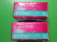 Buy Carefree SANITARY NAPKIN Daily 20 PADS Healthy Fresh Super Dry up 8 hours Odor