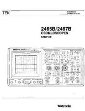 Buy Tektronix 2465B & 2467B Service 070-6873-00 by download Mauritron #321656