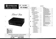 Buy Hitachi VTF370A-1A-2A-5AW Service Manual by download Mauritron #285691