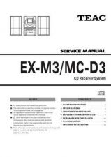 Buy Teac EXM3_MCD3 Service Manual by download Mauritron #319394