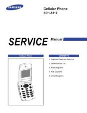 Buy Samsung SCH-A212 Mobile Phone Service Manual by download Mauritron #306260