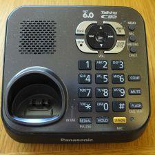 Buy PANASONIC KX TG9341T base - Answer machine caller ID LCD CORDLESS PHONE TGA931T