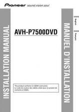 Buy JVC 2038108Installation Manual AVH-P7500DVD 20037161815425900 Service Manual by downl
