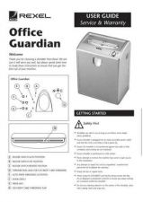 Buy GBC Office Guardian Operating Guide by download Mauritron #328465