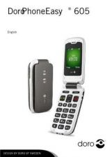 Buy Doro PhoneEasy 605 r5154) Operating Guide by download Mauritron #331200