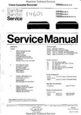 Buy Philips VRxxx Range Service Manual by download Mauritron #327762