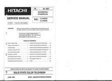 Buy Hitachi 35TX89K Service Manual by download Mauritron #287830