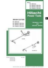 Buy Hitachi CG32EA Tool Service Manual by download Mauritron #319721