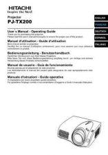 Buy Hitachi PJ-LC9_ZH Service Manual by download Mauritron #290713