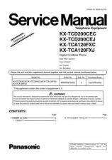 Buy Panasonic KX-TCA115EXC-==-=--==- Manual by download Mauritron #299622