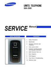 Buy Samsung SGH-ZV60 Mobile Phone Service Manual by download Mauritron #306504