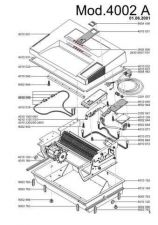 Buy Office Equipment IDEAL 4002 A SHREDDER PARTS by download #335532