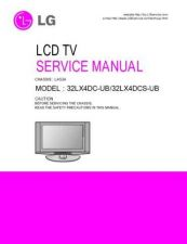 Buy LG 32LX4DC Service Manual by download Mauritron #322470