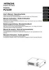 Buy Hitachi PJ-LC5_NO Service Manual by download Mauritron #290685