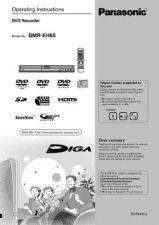 Buy Panasonic DMR-EH60DEB Manual by download Mauritron #298989