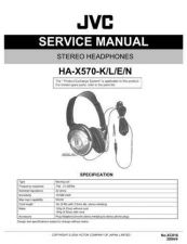 Buy JVC XC016 Service Manual by download Mauritron #278392