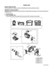 Buy JVC GR-D30-70-90 part Service Manual by download Mauritron #280579