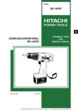 Buy Hitachi DS14DVF Tool Service Manual by download Mauritron #319875