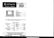 Buy Hitachi CT2553-1 Service Manual by download Mauritron #285086