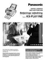 Buy Panasonic FL611NE_SUP2 Manual by download Mauritron #299241
