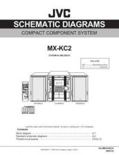 Buy JVC MX-KC2-11 Service Manual by download Mauritron #282976